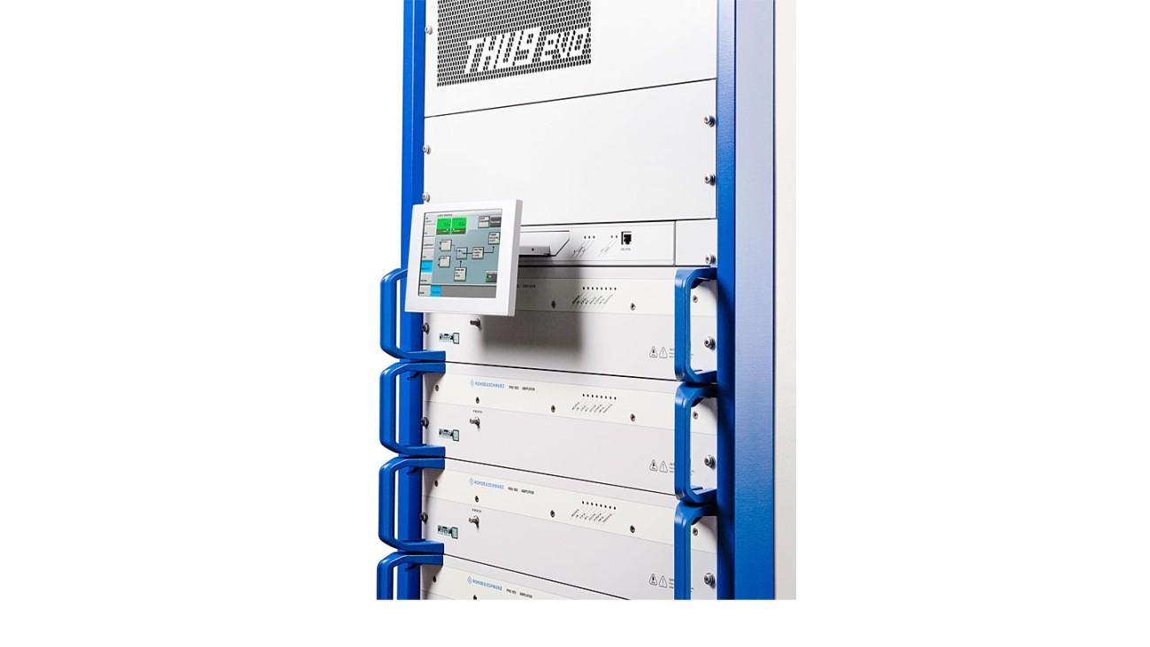 R&S®THU9evo liquid-cooled UHF transmitter family | Rohde & Schwarz
