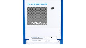 The R&S THV9evo integrates the newest features that Rohde & Schwarz has developed for its transmitters over the past few years.