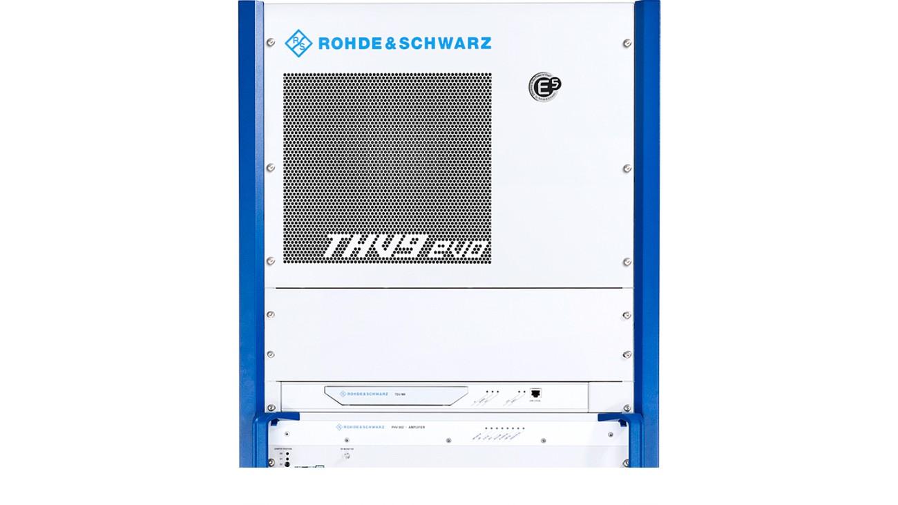 R&S®THV9evo liquid-cooled VHF transmitter