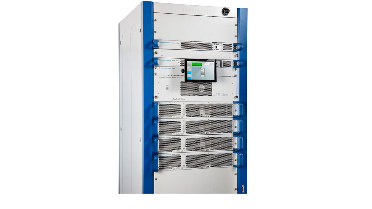 R&S®TMU9evo with 1.5 kW output power