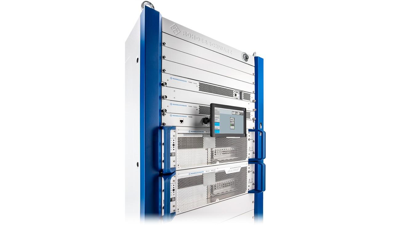 R&S®TMV9evo with 1.45 kW output power