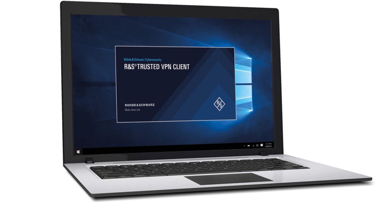 R&S®Trusted VPN Client Hotspot
