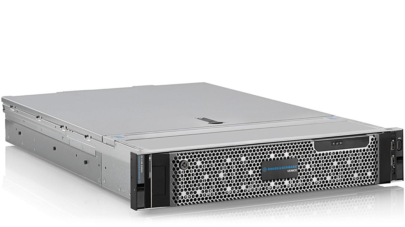 R&S®VENICE video server, side view