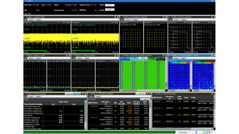R&S®VSE-K146 5G MIMO measurements