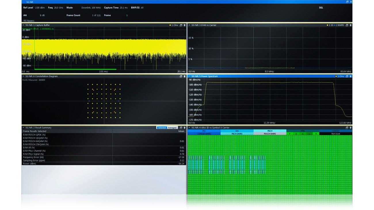 5G NR signal