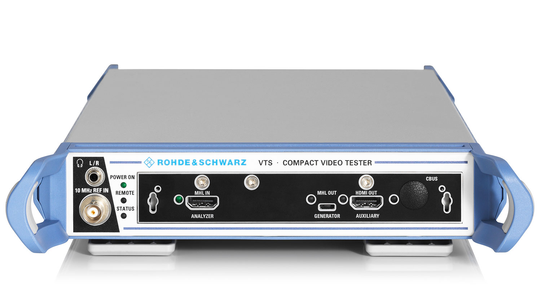 Rsvtc Vte Vts Video Testers Overview Rohde Schwarz C Bus Wiring Diagram