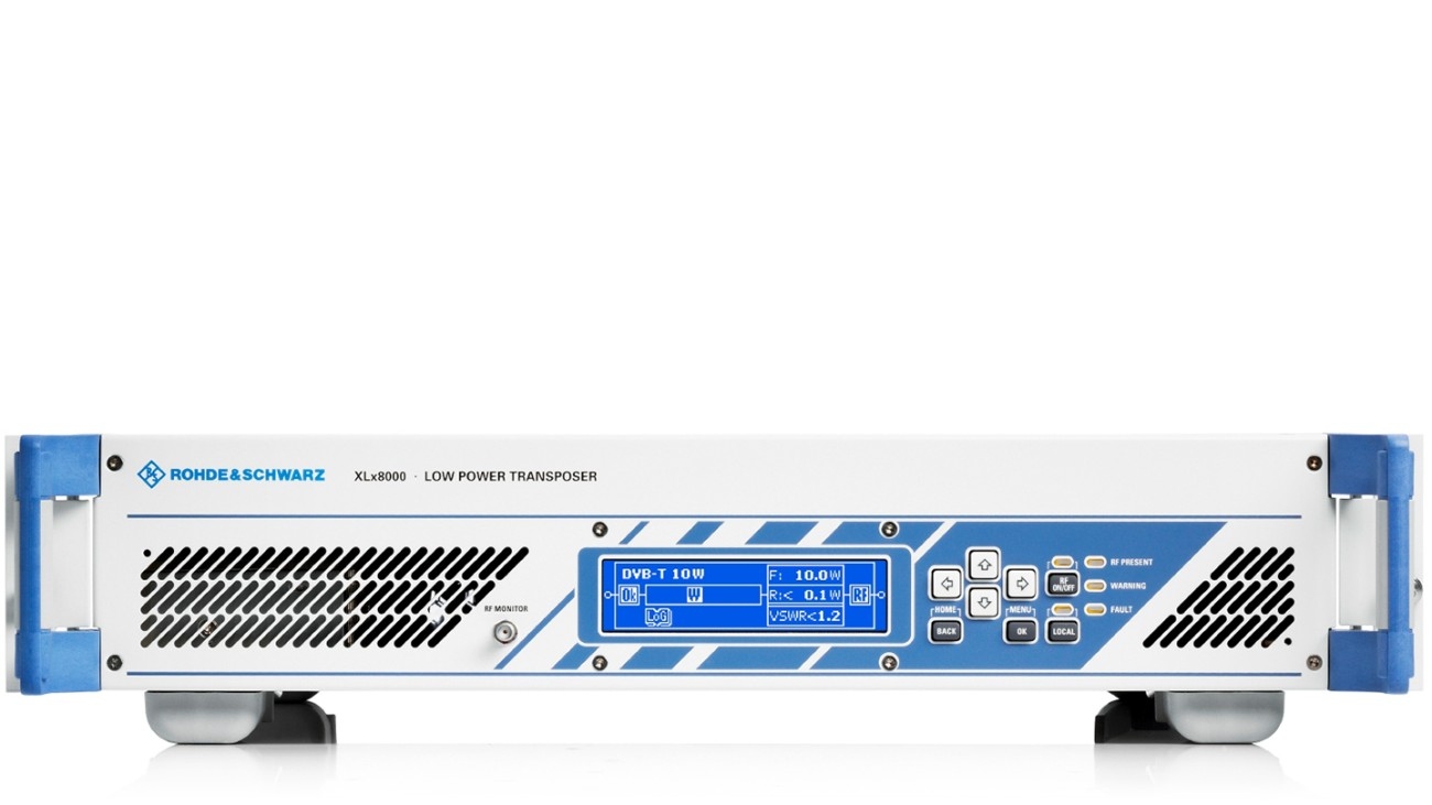 R&S®XLx8000 UHF/VHF Transposers