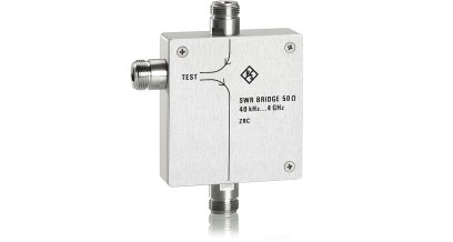 R&S®ZRC SWR bridge, 40 kHz to 4 GHz, 50 Ω | Test