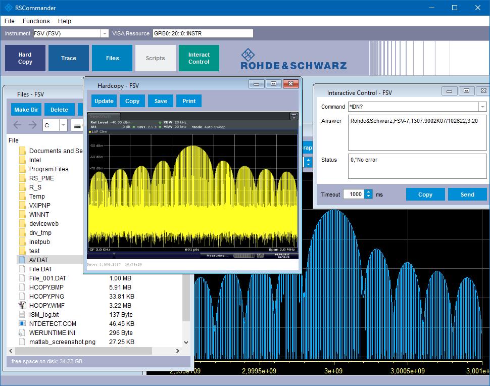 10  Remote Operation | Rohde & Schwarz