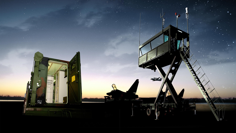 Military air traffic control | Rohde & Schwarz