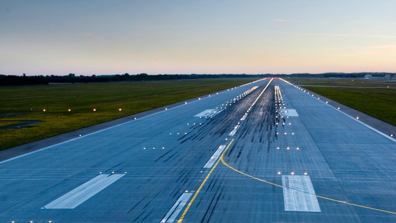Terrestrial air navigation test measurement