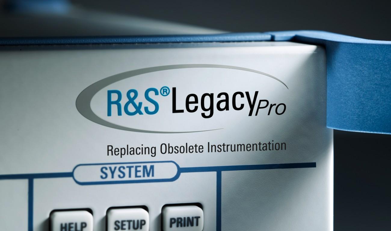 R&S®LegacyPro