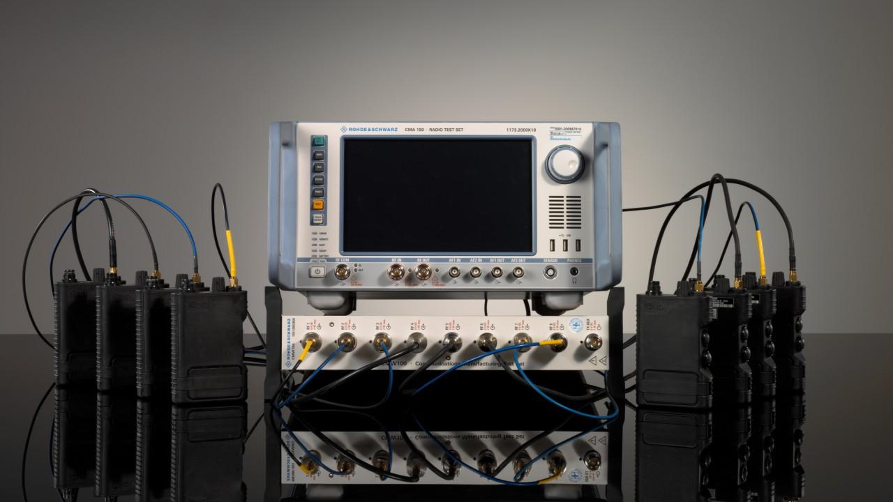 Wideband I/Q Data Recording for waveform testing