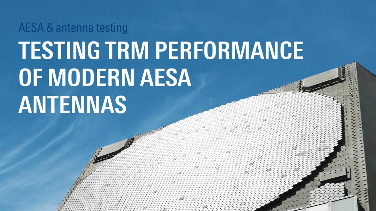 Testing TRM performance