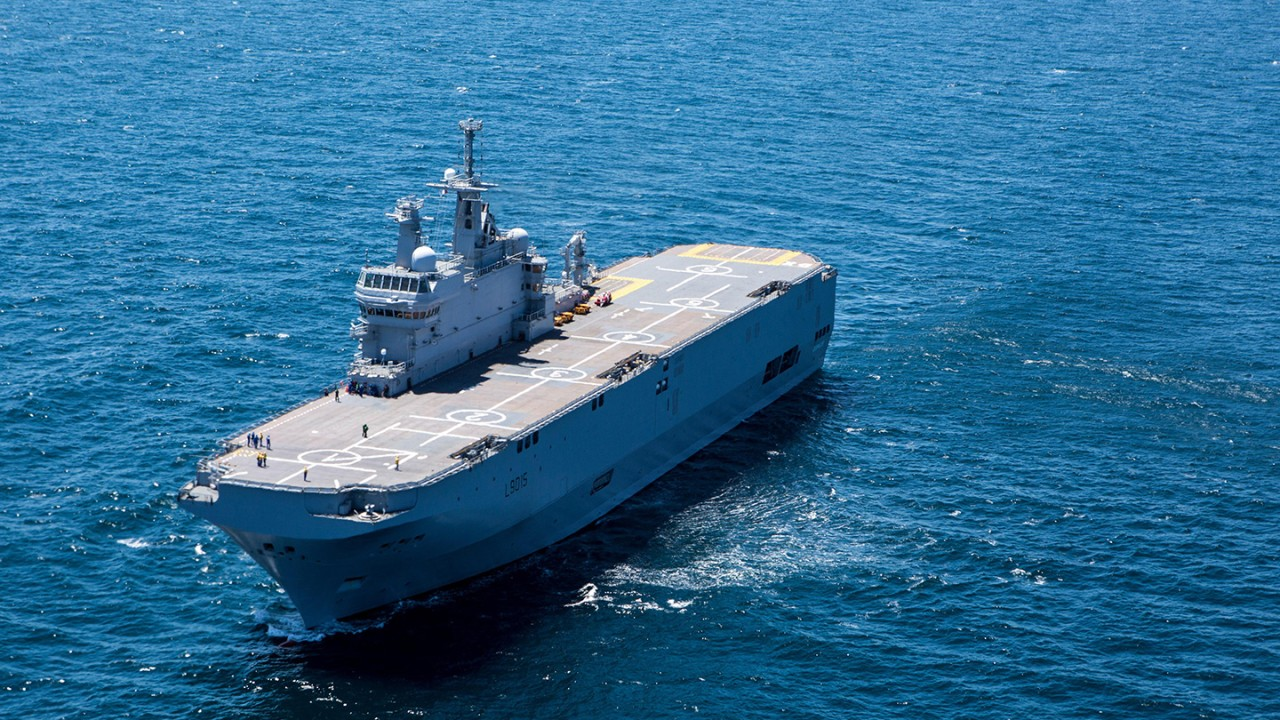 Rohde & Schwarz is maintaining the French Navy's existing radio communications architecture.