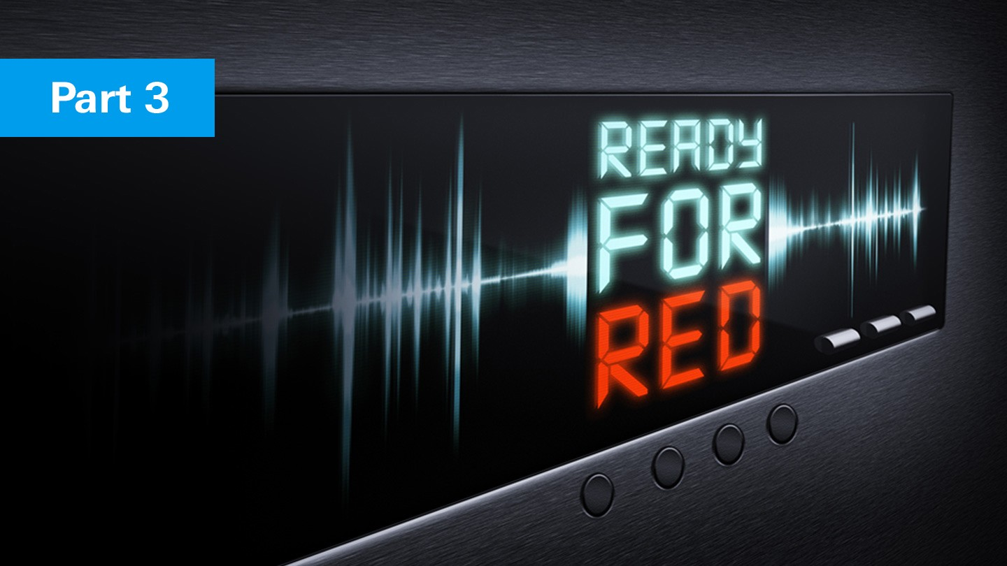 Ready for RED - Part 3