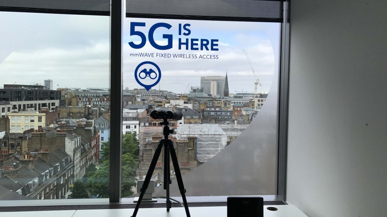 5G trials in London