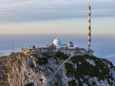 Bayerischer Rundfunk's (BR) Wendelstein transmitter station