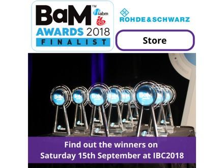 IABM BaM Awards 2018