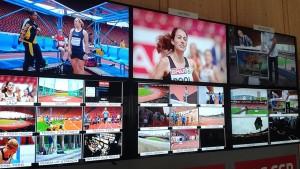 EBU UHD tests (photo courtesy EBU)