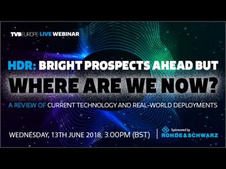 TVBEurope live seminar, June 13, 2018