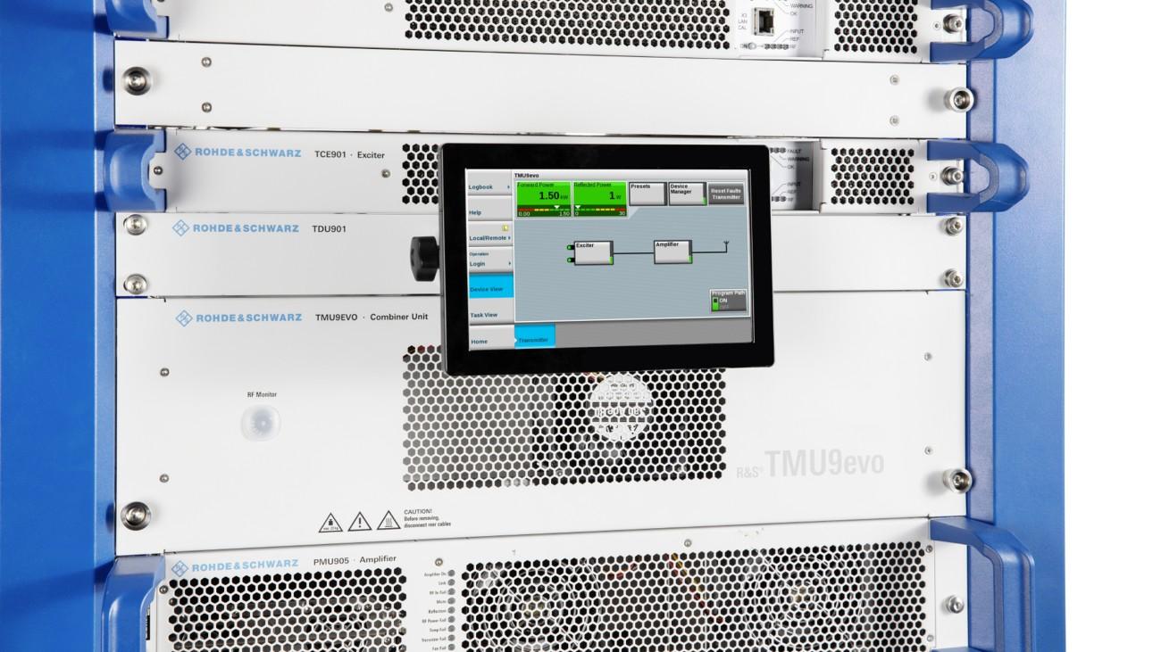 R&S TMU9evo transmitter