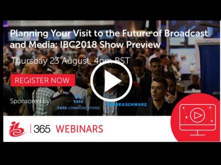 IBC365 webinar on IBC 2018 trends
