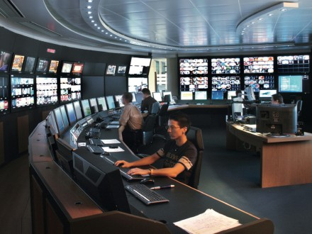 Master control room (MCR)