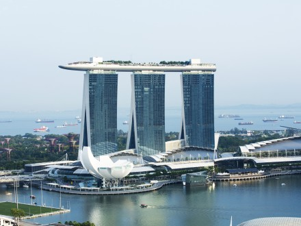 Marina Bay Sands and Suntec Singapore