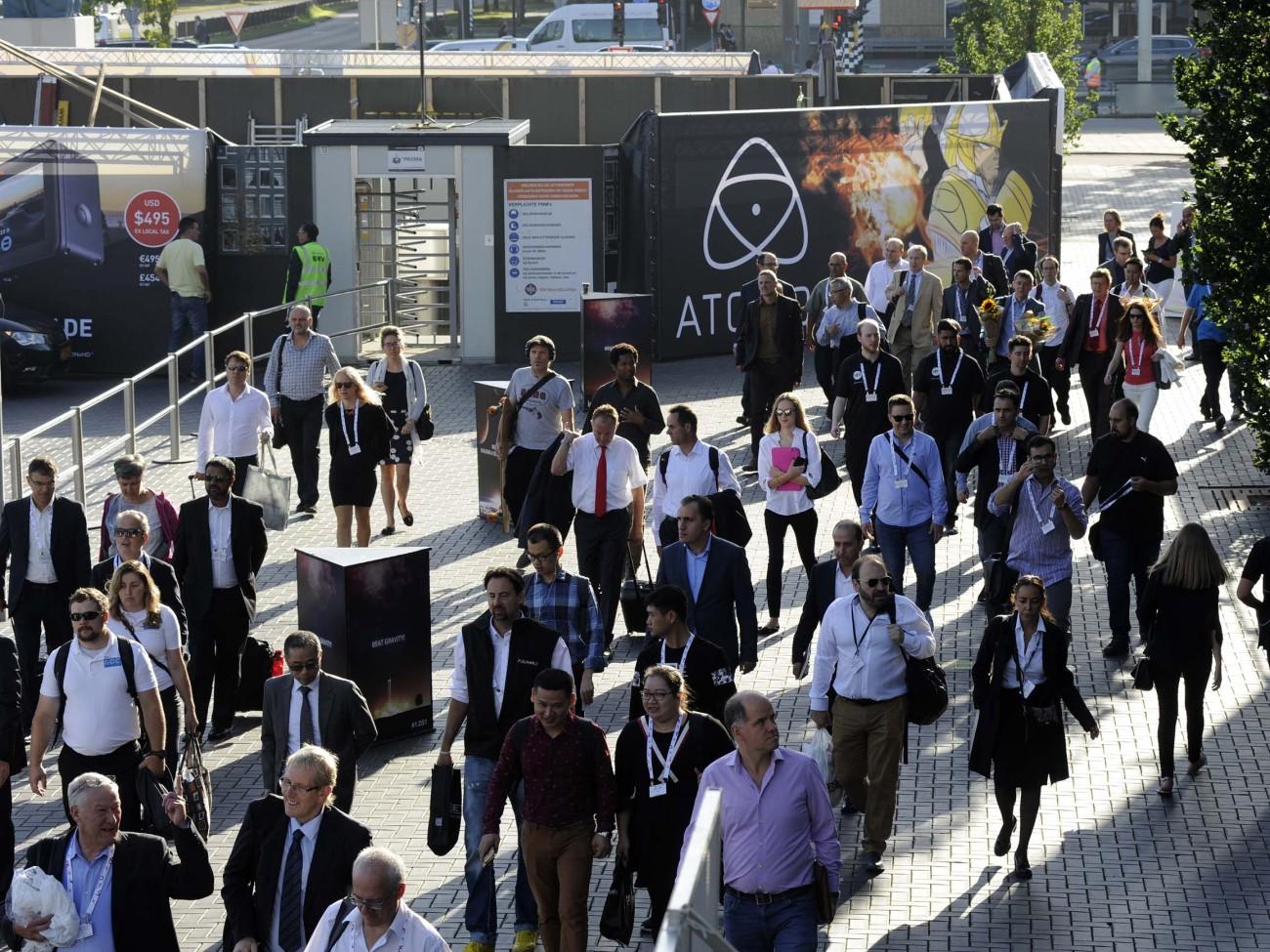Photo: What are people looking for at IBC 2017?
