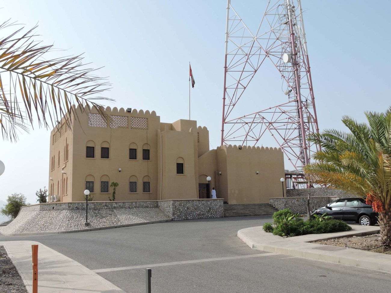 Transmitter site in Ruwi, a district of the capital, Muscat, is the main station of Oman's Public Authority for Radio & TV.