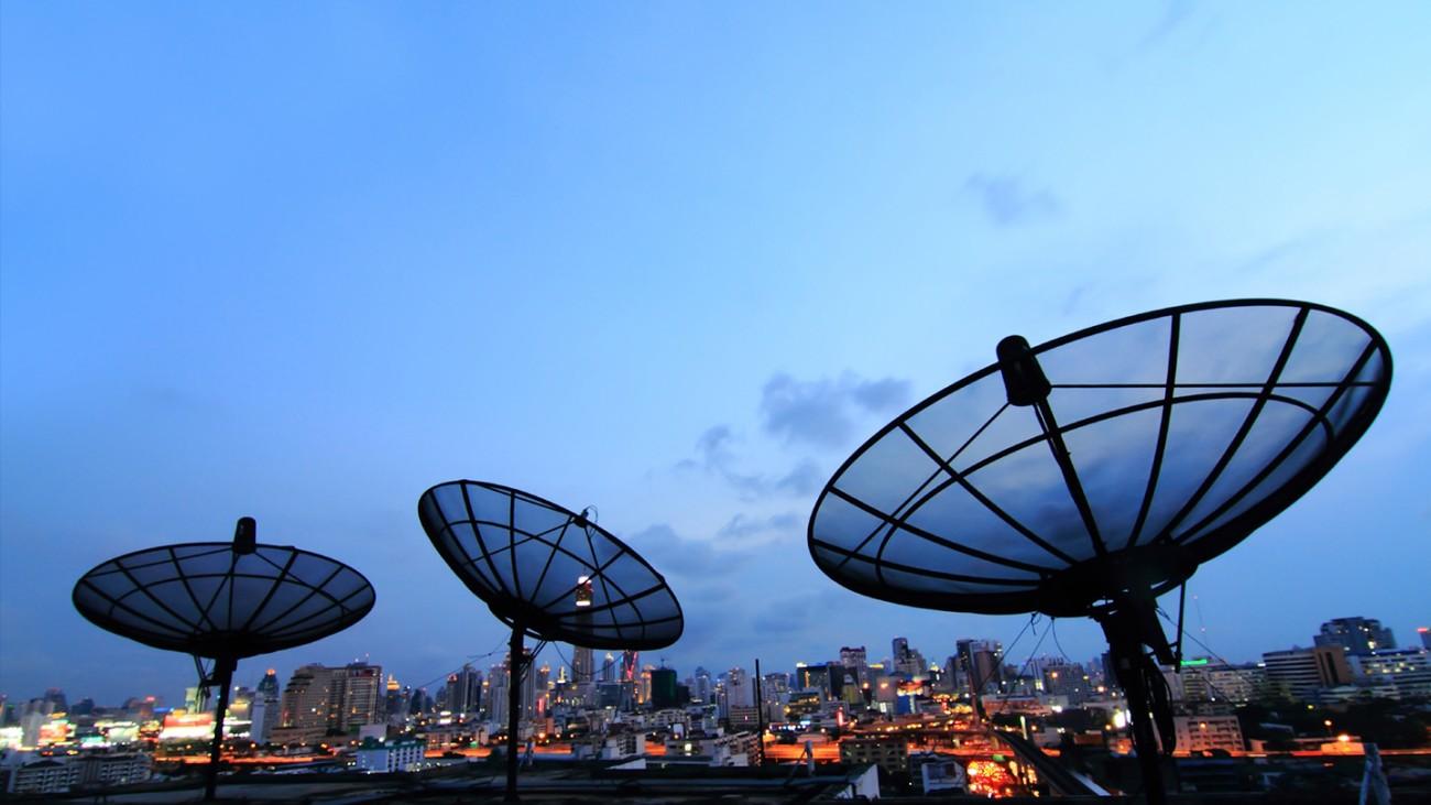 Satellite uplink   Rohde & Schwarz
