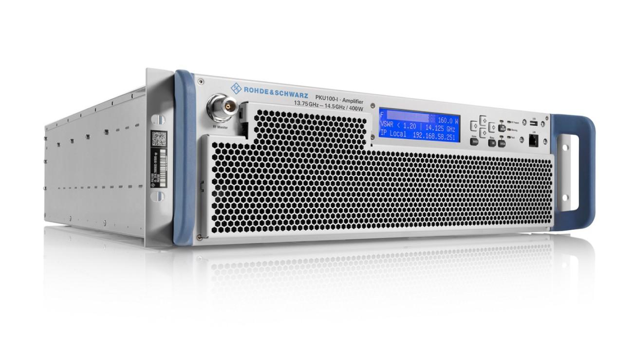 R&S®PKU100 Satellite Uplink Amplifier
