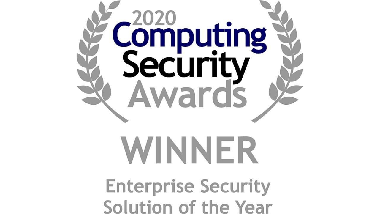 Computing Security Award 2020