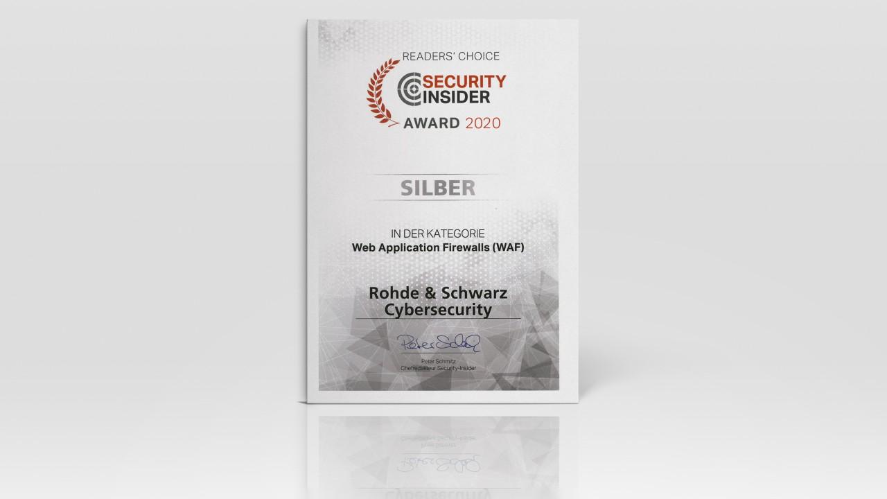 Security Insider Award 2020