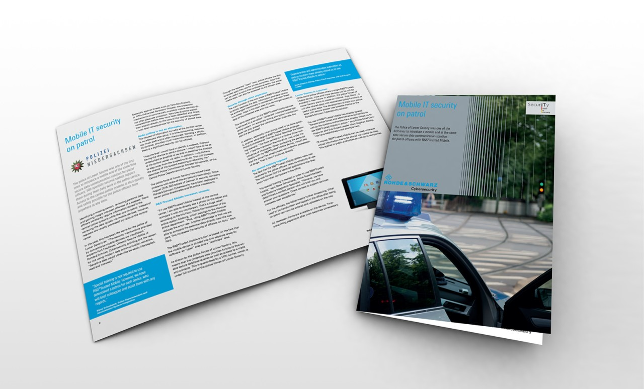 Mobile IT security on patrol - Case study