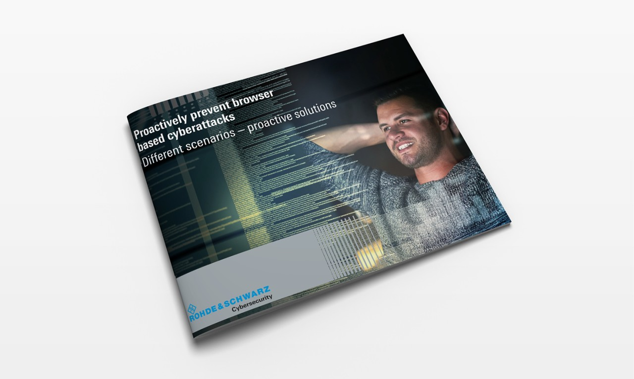 Proactively prevent browser based cyberattacks - eBook