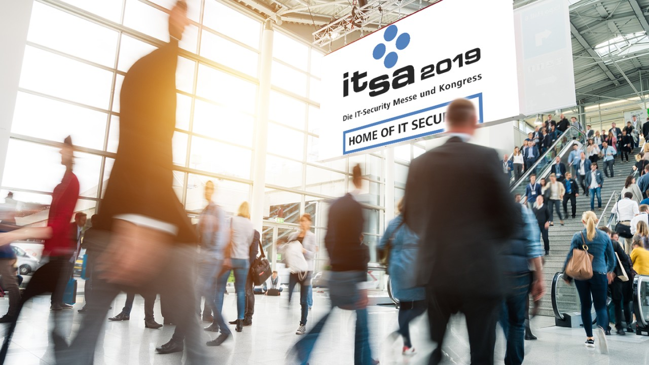 Rohde & Schwarz Cybersecurity with LANCOM at it-sa 2019