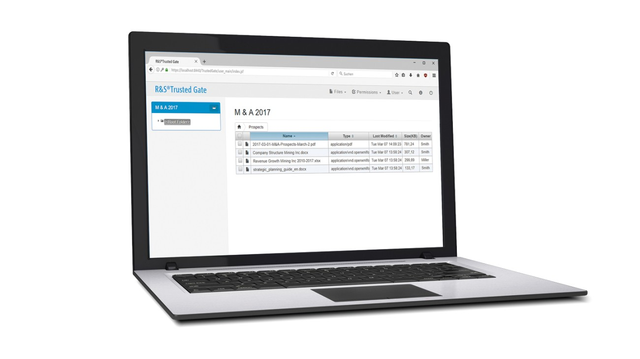 R&S®Browser in the Box - Enterprise