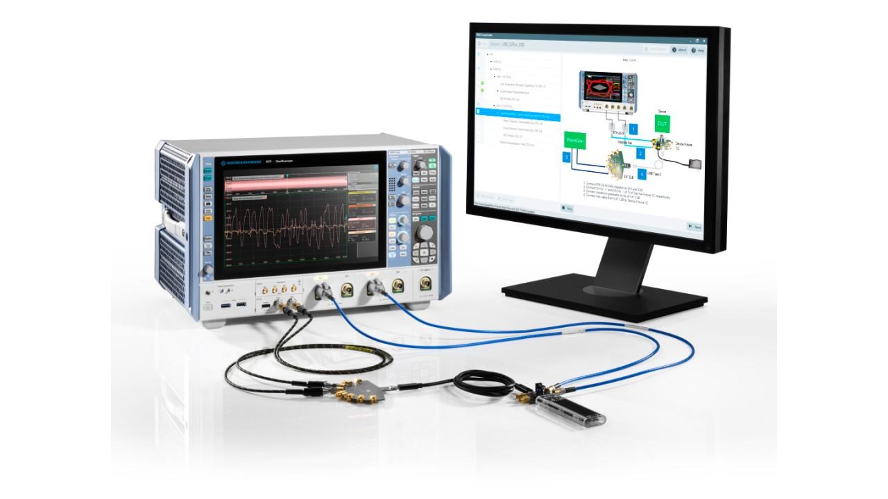 El osciloscopio de alto rendimiento R&S®RTP164
