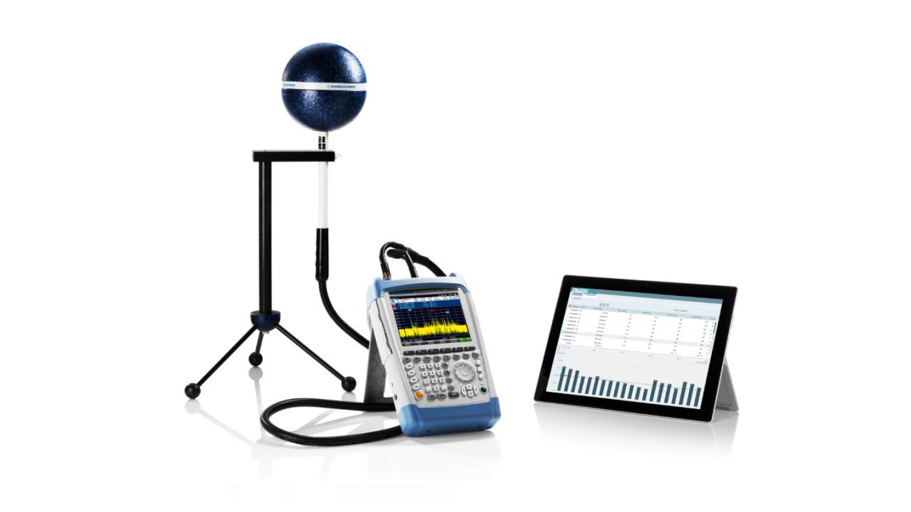 Mesures EMF à sélection de fréquences