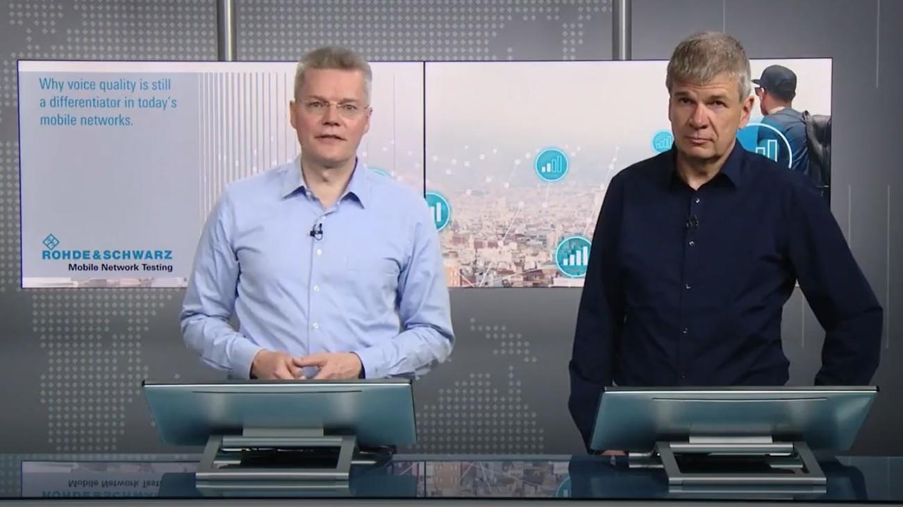 Rohde&Schwarz-Webinar zu Sprachqualität