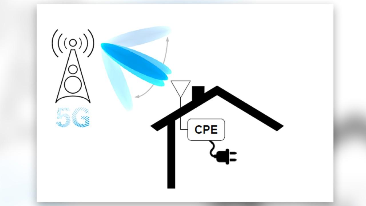 Fixed Wireless Access (FWA) application