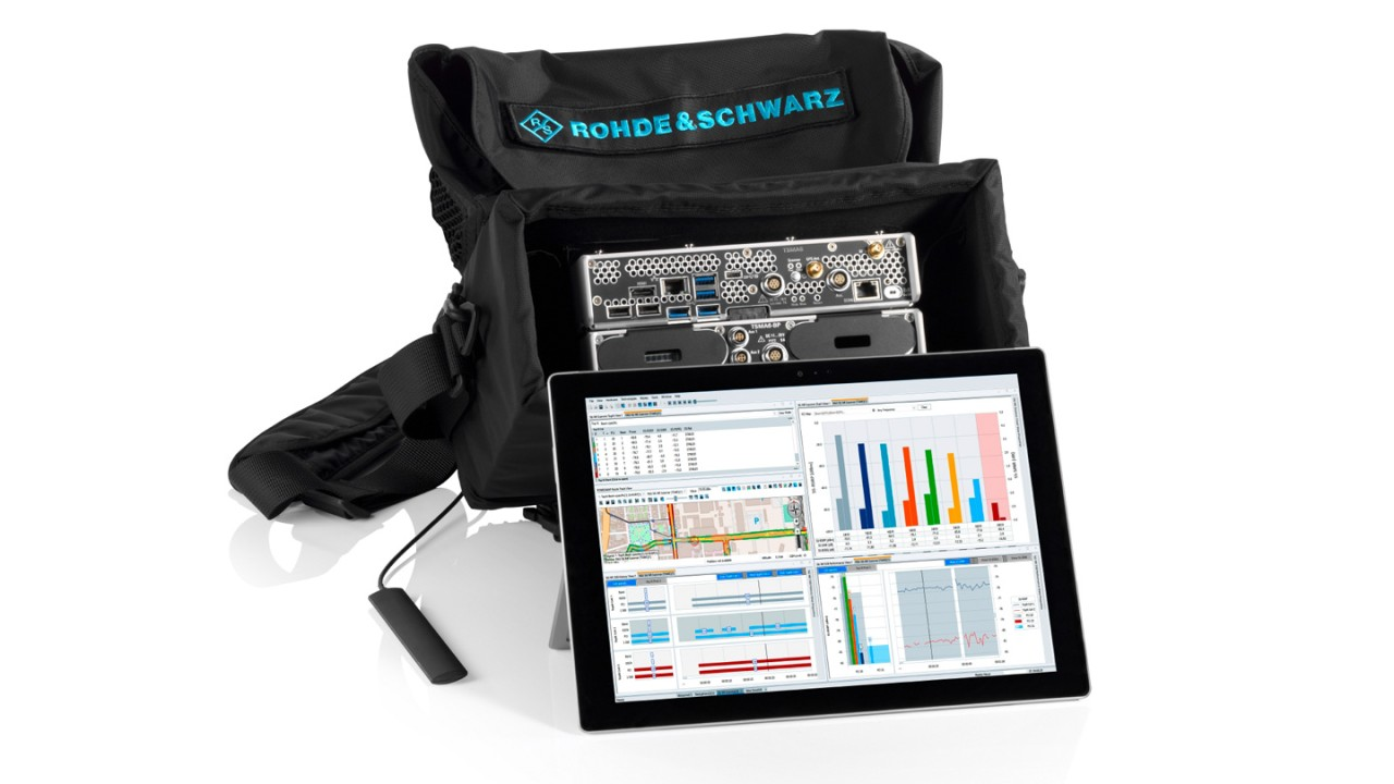 5G NR network measurement solution in a bag