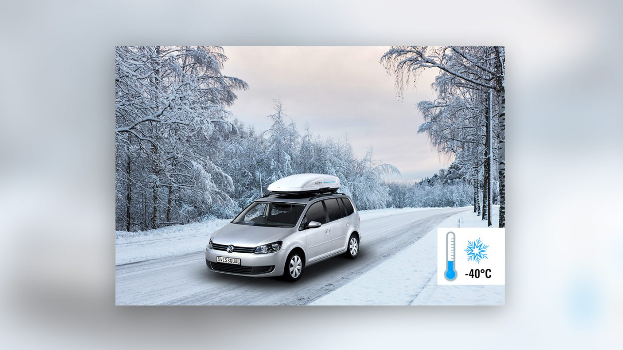 Our systems can withstand temperatures of up to -40°C (-40°F), respectively +45°C (104°F)