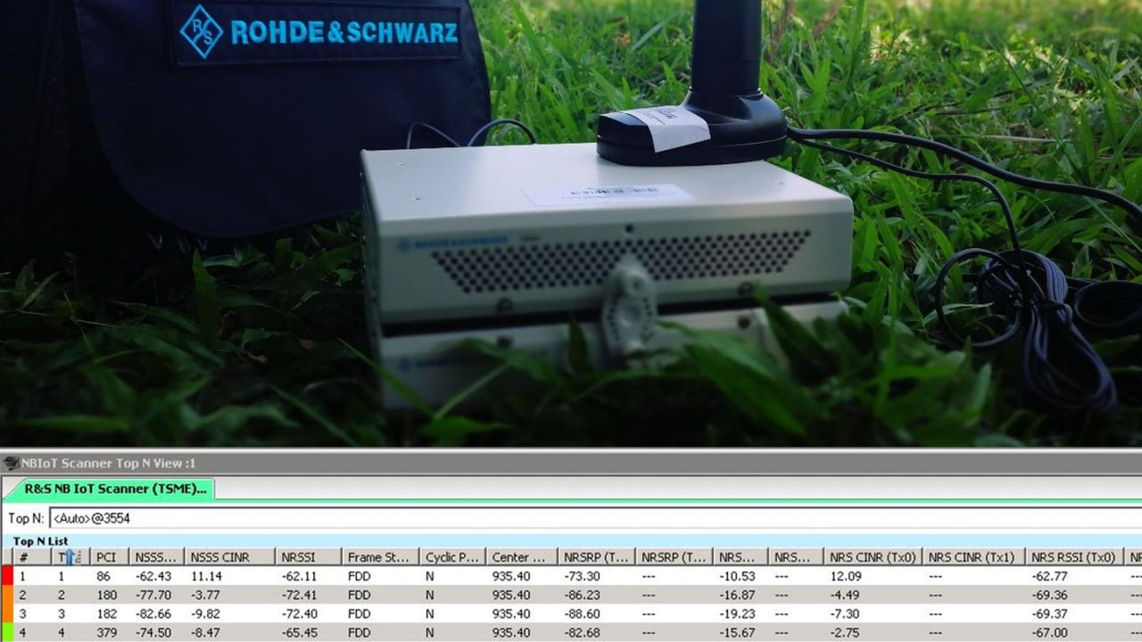 R&S TSMA scanner
