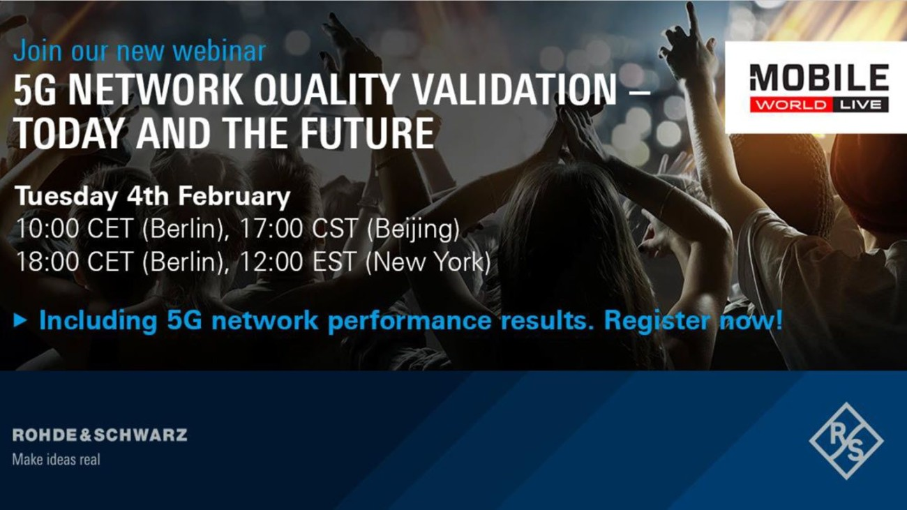 5G Network Quality Validation - today and the future