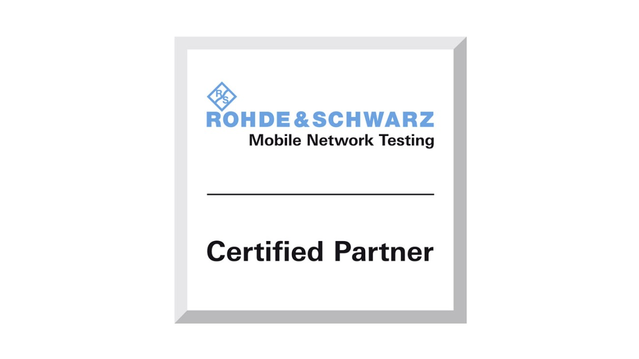 Rohde & Schwarz Mobile Network Testing Certified Partner Program