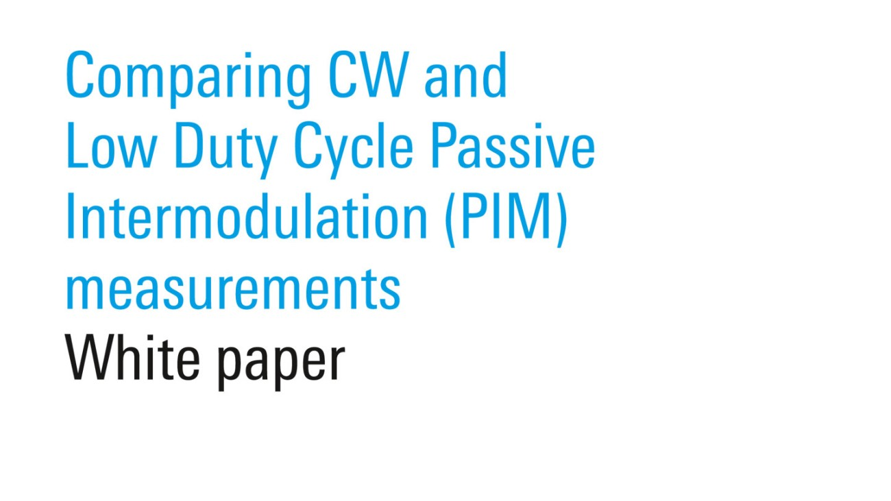 Mobile-Network-Testing-Installation-Maintenance-Comparing-CW-PIM-Measurements-White-Paper