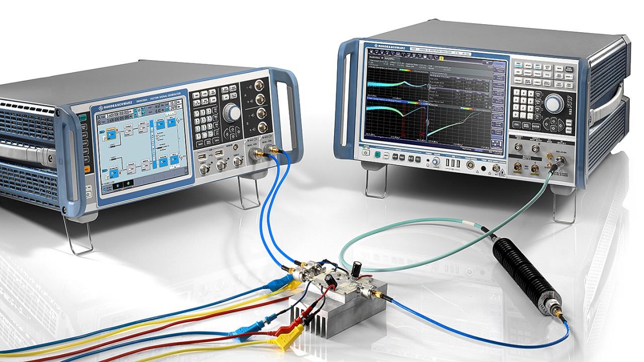 Dual input Doherty amplifier